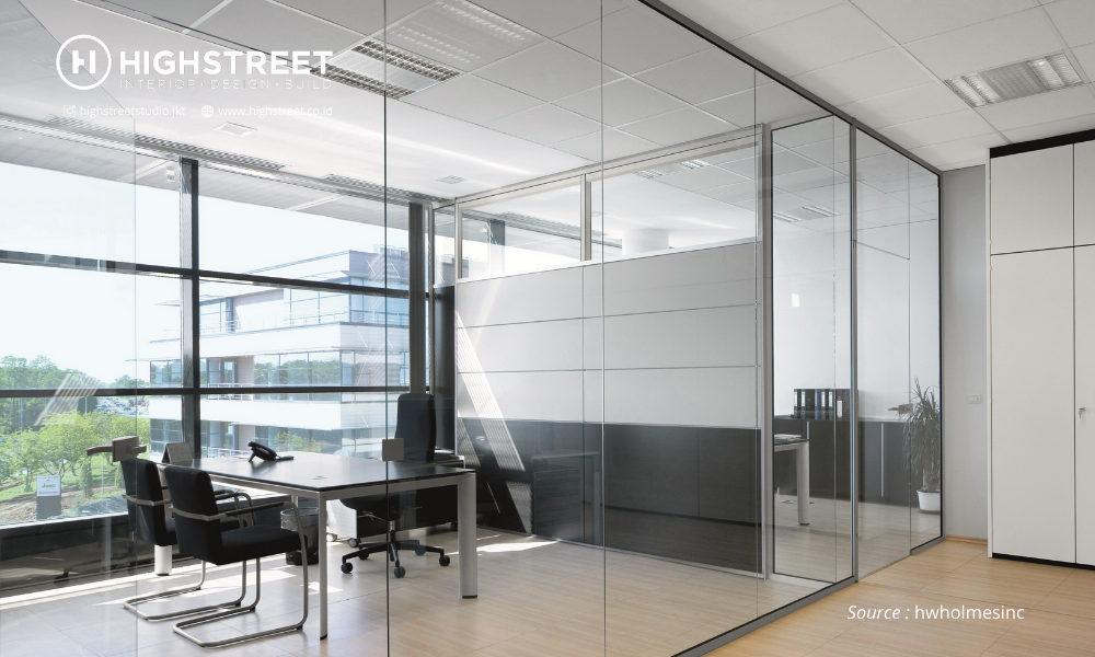 Why the Frosted Glass is Most Favourite in Office Design?