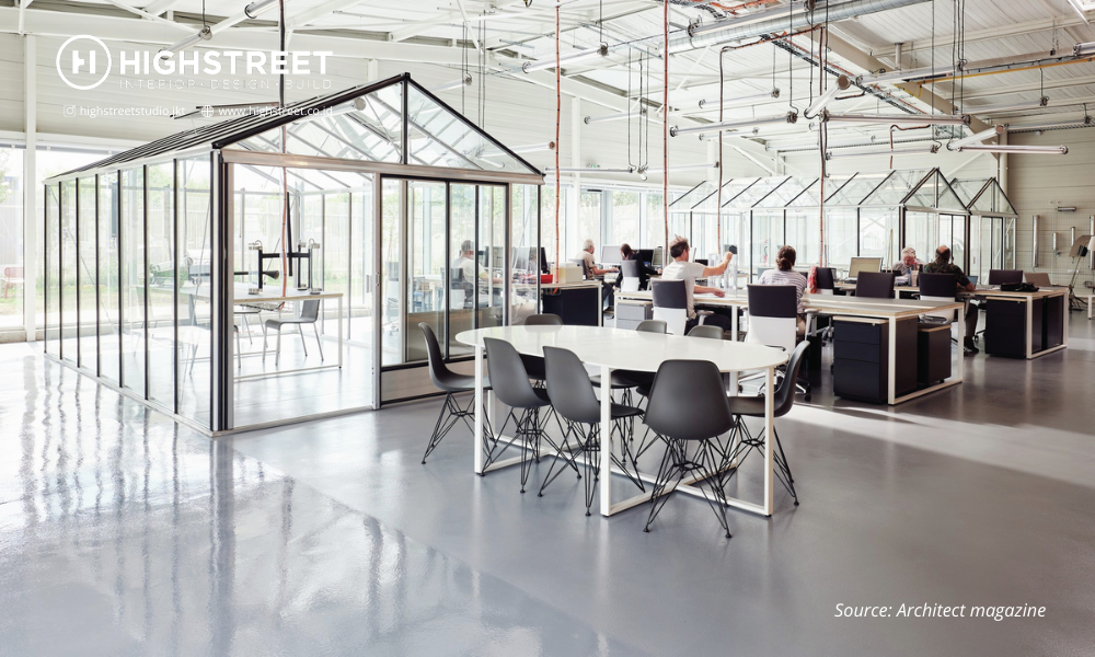 Design Workplaces for Social Distancing