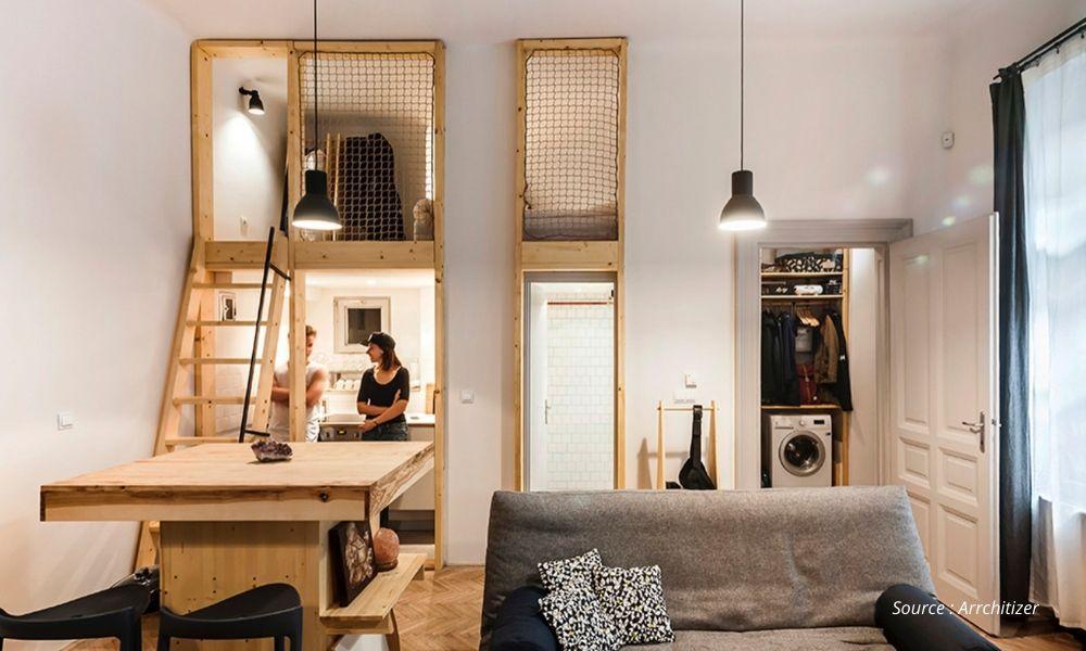 5 Inspirasi Apartemen Tipe Studio Dari Jasa Desain Interior Apartemen Artikel High Street
