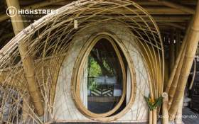 Traditional Design Style Inspirations, Unique Bamboo Houses in Bali