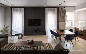 Modern Minimalist Concepts from Apartment Interior Services