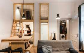 5 Studio Type Apartment Inspiration from Apartment Interior Design Services